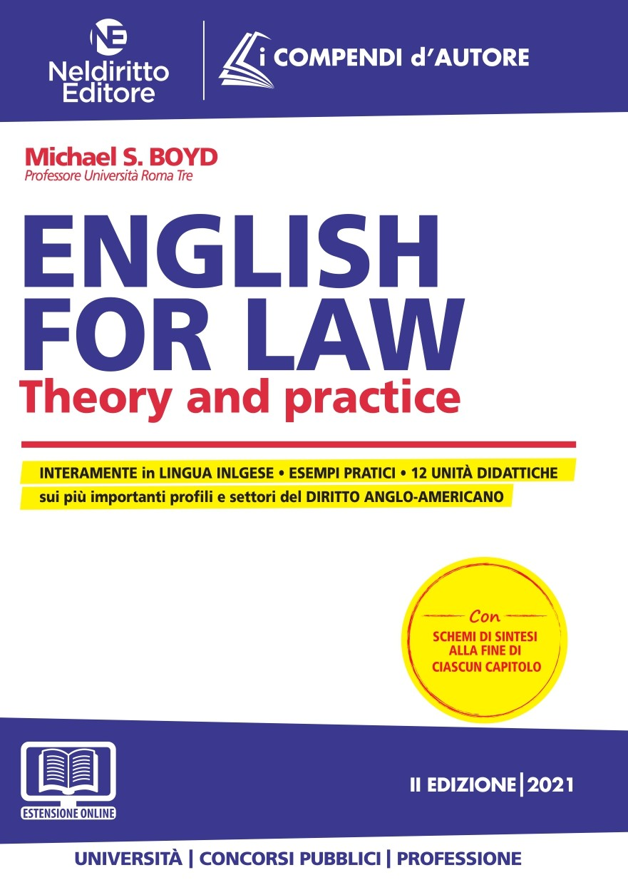 English for law - Theory and Practice