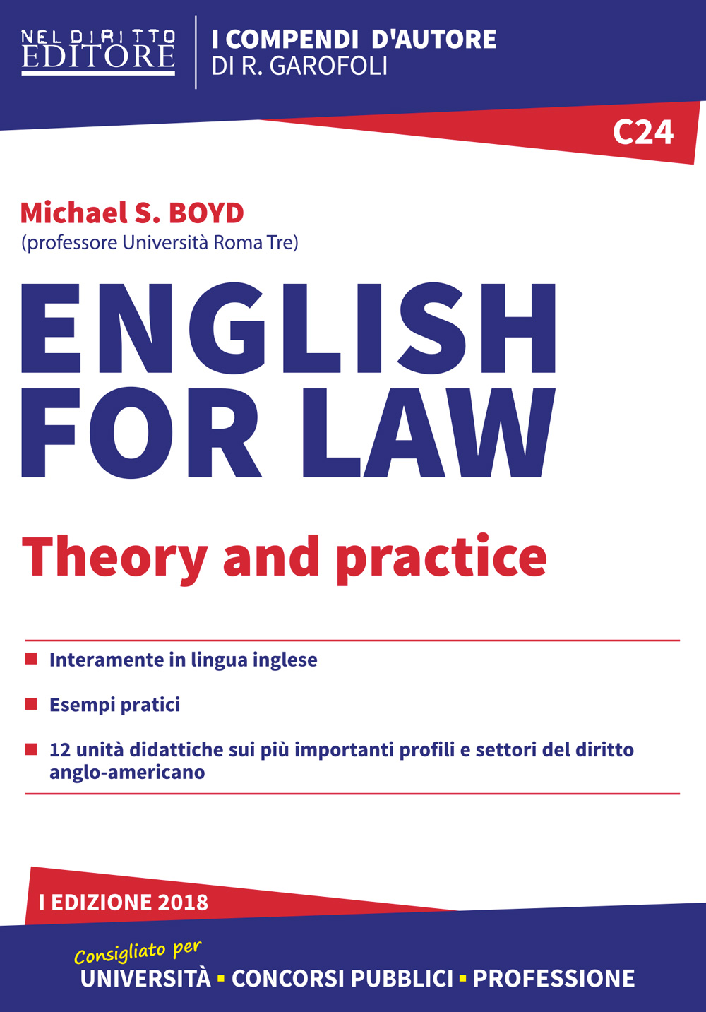 C24 - English for law